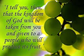 Matthew 21-33–43